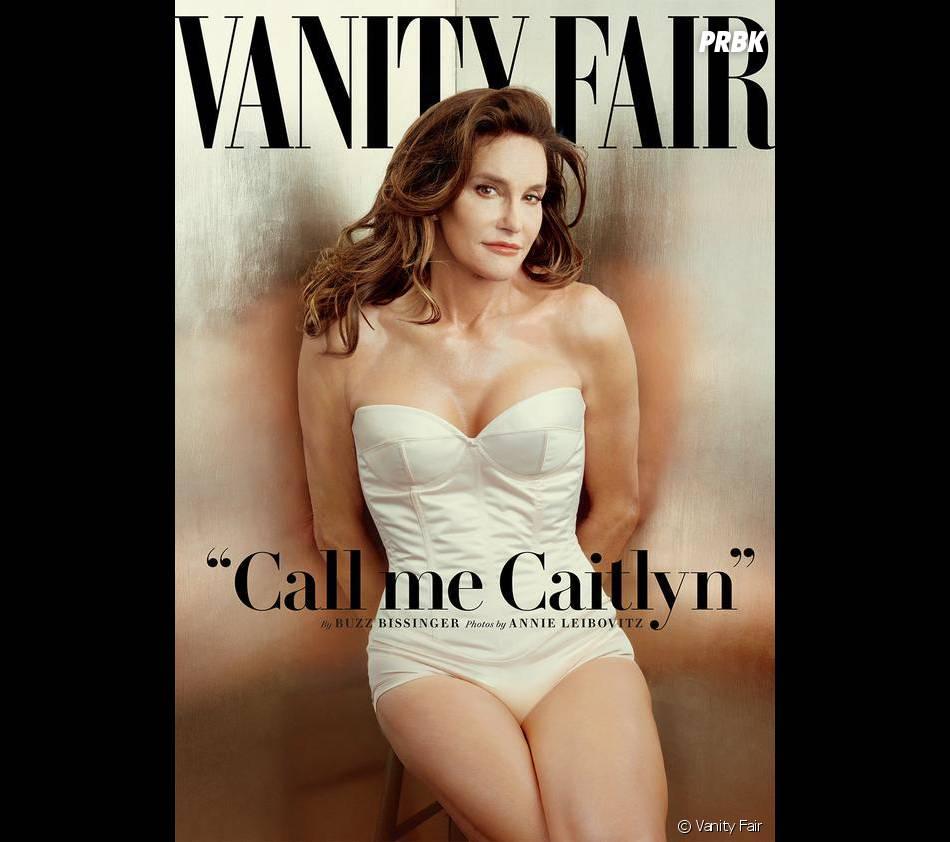 Bruce Jenner en femme en couverture de Vanity Fair