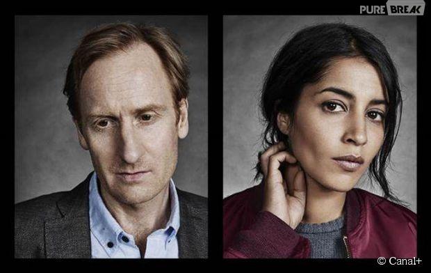 """Leila Bekhti et Gustaf Hammarsten, stars de la nouvelle série originale de Canal+ intitulée """"Jour polaire"""""""