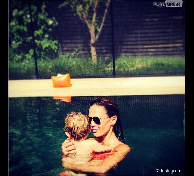 Vitaa : photo ensoleillée avec son fils Adam sur Instagram
