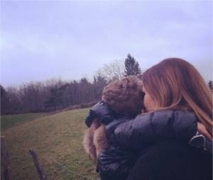 Vitaa et son fils Liham sur Instagram