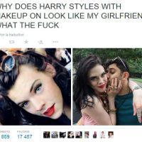 Harry Styles maquillé en femme... Voilà son sosie improbable