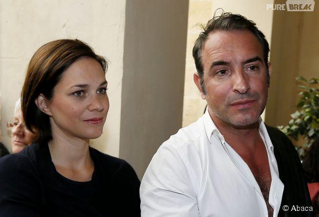 Jean dujardin et nathalie p chalat bient t un b b pour for Jean dujardin couple 2014
