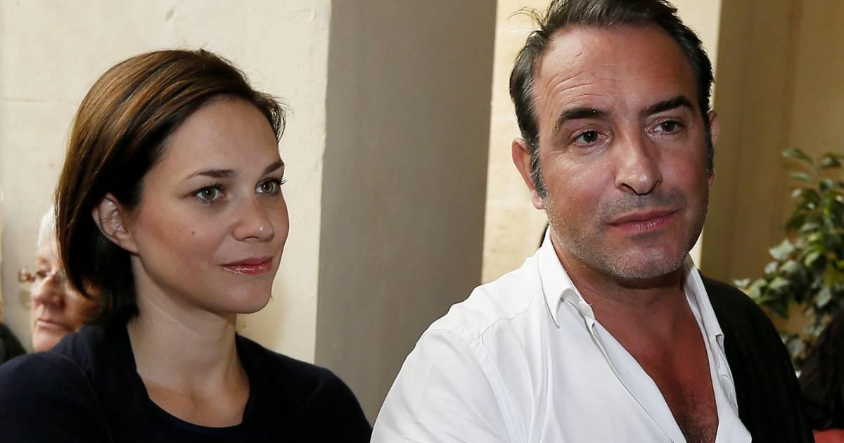Jean dujardin et nathalie p chalat bient t un b b pour for Nathalie jean dujardin