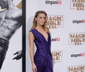 Amber Heard  l'avant-première de Magic Mike XXL à Los Angeles