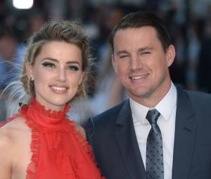 Amber Heard et Channing Tatum à l'avant-première de Magic Mike XXL à Londres