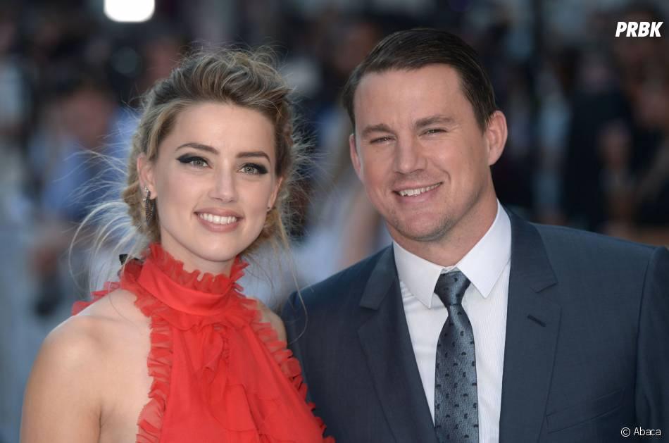 Amber Heard et Channing Tatum à l'avant-première de Magic Mike XXL à Londres