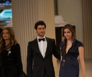 Jérémie Elkaïm lors du défilé Chanel au Grand Palais, le 7 juillet 2015