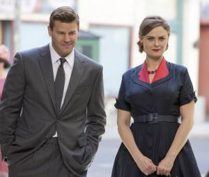 Bones saison 10 : Booth et Brennan lors du 200ème épisode