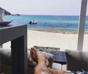 Grégoire Lyonnet en mode vacances en Corse