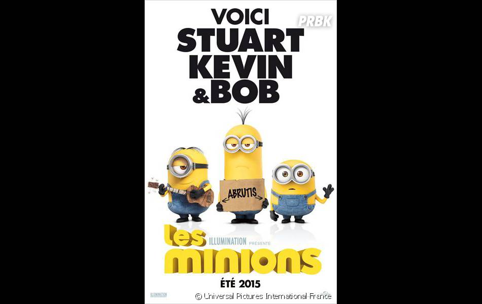 Les Minions : le film au cinéma le 8 juillet 2015