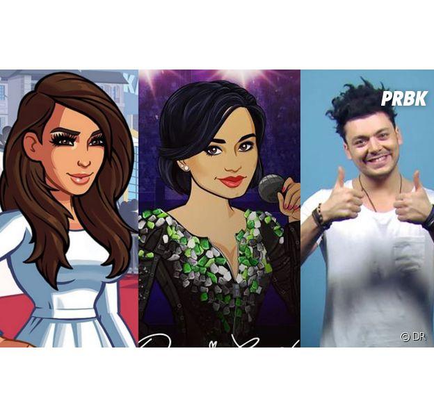 Demi Lovato, Kim Kardashian, Kev Adams... ces stars qui ont leur lancé leur propre appli !