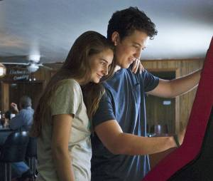 Shailene Woodley et Miles Teller dans The Spectacular Now