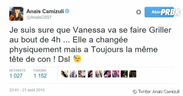 Anaïs Camizuli clashe violemment Vanessa de Secret Story 9