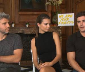 Zac Efron et Emily Ratajkowski en interview pour le film We Are Your Friends