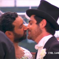 """Cyril Hanouna et Camille Combal, le mariage ! Ils se disent """"oui"""" en direct dans TPMP"""