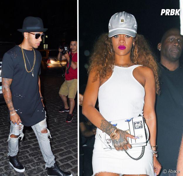 Rihanna et Lewis Hamilton en couple ? Le pilote de F1 répond