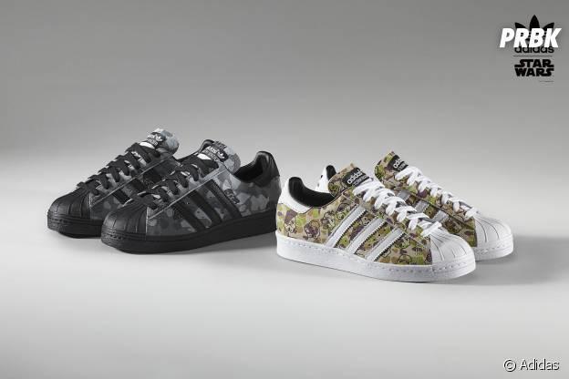 Adidas x Star Wars : une collection inédite de Superstar pour l'Episode VII, Le Réveil de la Force