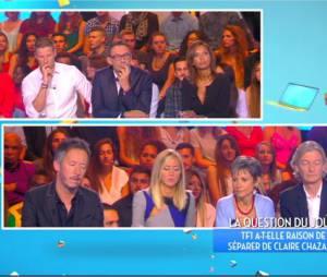 Karine Le Marchand s'exprime sur l'éviction de Claire Chazal par TF1 dans TPMP, le 7 septembre 2015
