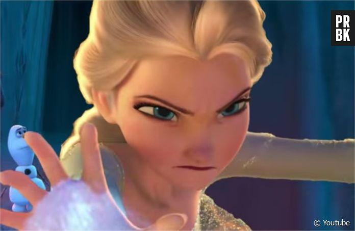 La Reine des Neiges  et si Elsa était la méchante du film ? La vidéo  effrayante , Purebreak