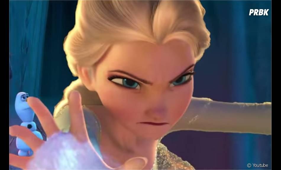 La Reine des Neiges : Elsa méchante dans un montage vidéo effrayant