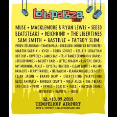 Sam Smith, James Bay, Macklemore & Ryan Lewis... Playlist spéciale Lollapalooza Berlin 2015