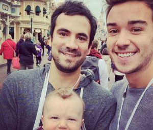 Alex Goude : tendre cliché avec son mari Romain pour le premier Disney d'Elliot