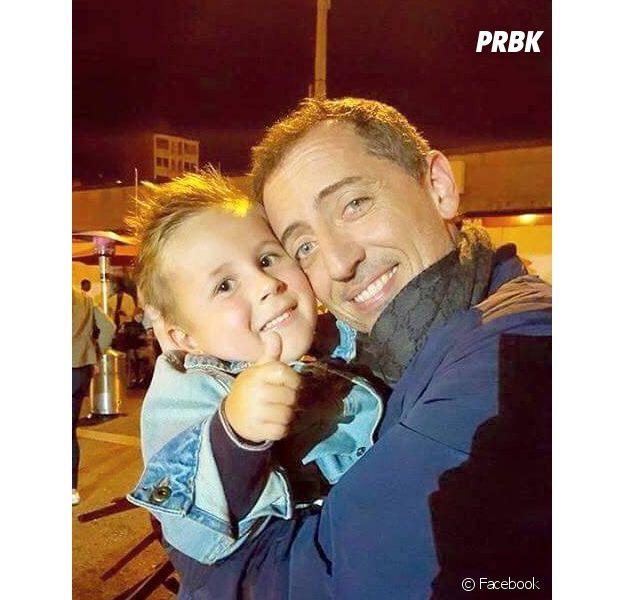 Gad Elmaleh : star généreuse et accessible avec Elio, un jeune fan belge de 4 ans atteint d'une grave maladie