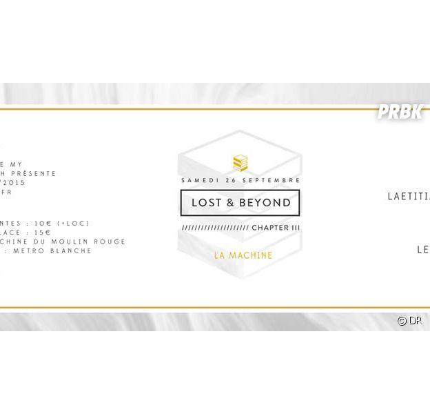 Lost & Beyond, chapitre 3 le samedi 26 septembre à la Machine du Moulin Rouge