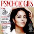 Leïla Bekhti en Une du magazine Psychologies