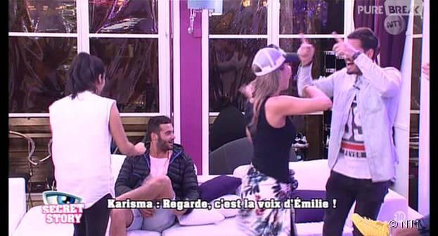 Secret Story 9 : Karisma buzze Loïc, Emilie et Remi