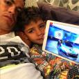 Cristiano Ronaldo, papa gaga de son fils Cristiano Ronaldo Junior