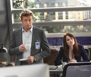 Mentalist saison 7 : Robin Tunney et Simon Baker très proches sur le tournage