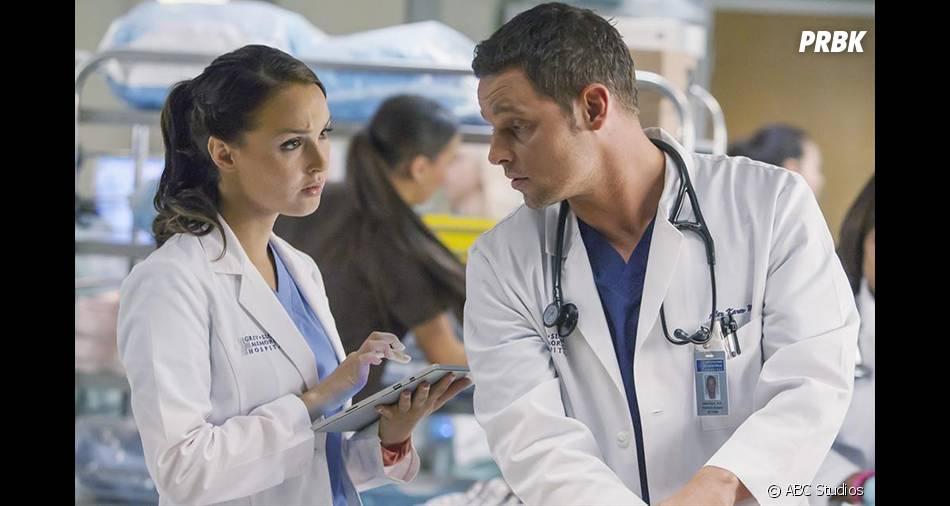 Grey's Anatomy saison 12 : un bébé pour Alex et Jo ?