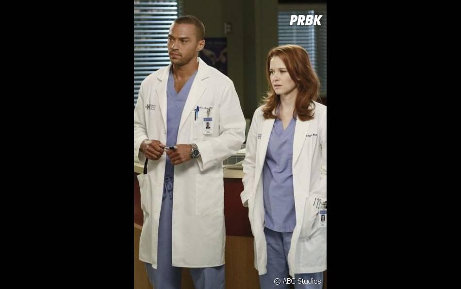 Grey's Anatomy saison 12 : April et Jackson, bientôt la fin du couple ?