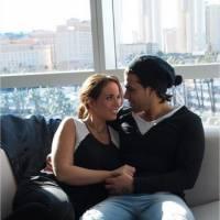 Kelly Helard enceinte : photos sexy et confidences pour ses 8 mois de grossesse