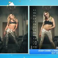 Julien Courbet : parodie délirante du calendrier sexy de Clara Morgane dans TPMP