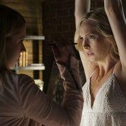 The Vampire Diaries saison 7 : Caroline torturée, Damon/Bonnie duo sexy sur les photos promo