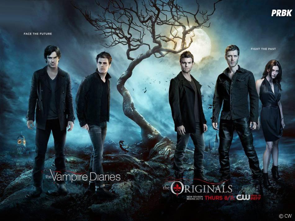 The Originals saison 3 et The Vampire Diaries saison 7 : l'affiche