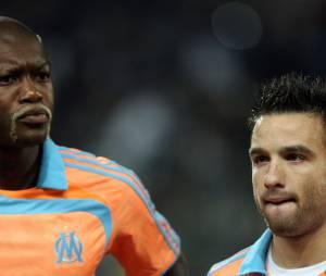 Djibril Cissé défendu par Mathieu Valbuena
