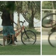 Caméra cachée : il piège des voleurs de vélos, c'est à mourir de rire... et bien fait pour eux !