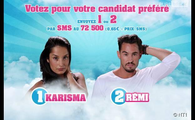 Rémi et Karisma (Secret Story 9) nominés dans l'épisode du 26 octobre 2015