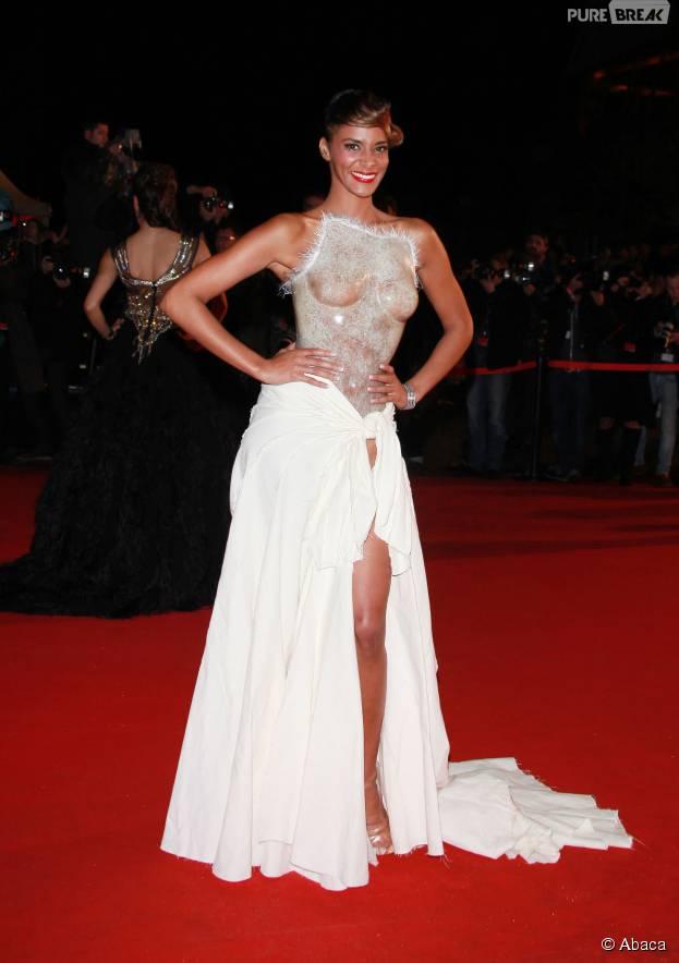 Shy'm : sa robe Franck Sorbier a fait le buzz aux NRJ Music Awards 2012, à Cannes