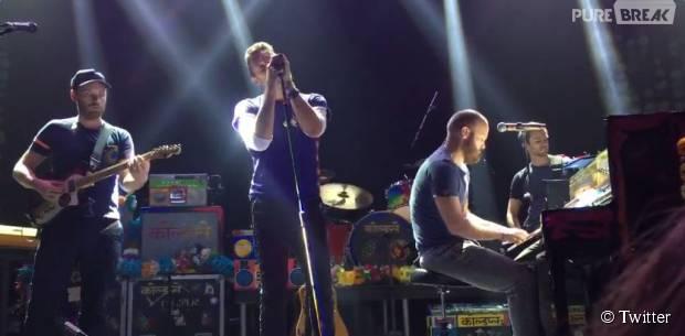 Coldplay : reprise d'Imagine de John Lennon en hommage aux victimes des attentats de Paris le 13 novembre 2015