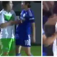 Football : les femmes aussi simulent, et c'est aussi ridicule que pour les hommes
