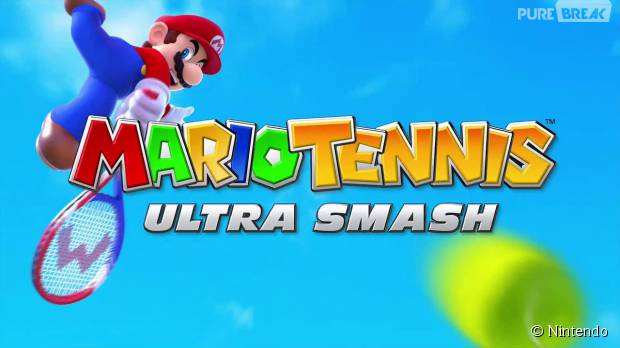 Mario Tennis Ultra Smash : une image du jeu