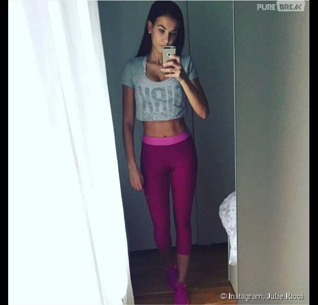 Julie Ricci trop maigre ? La photo qui inquiète ses fans