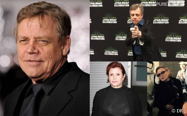 Star Wars - Mark Hamill et Carrie Fisher : leur étonnante perte de poids pour le tournage du film