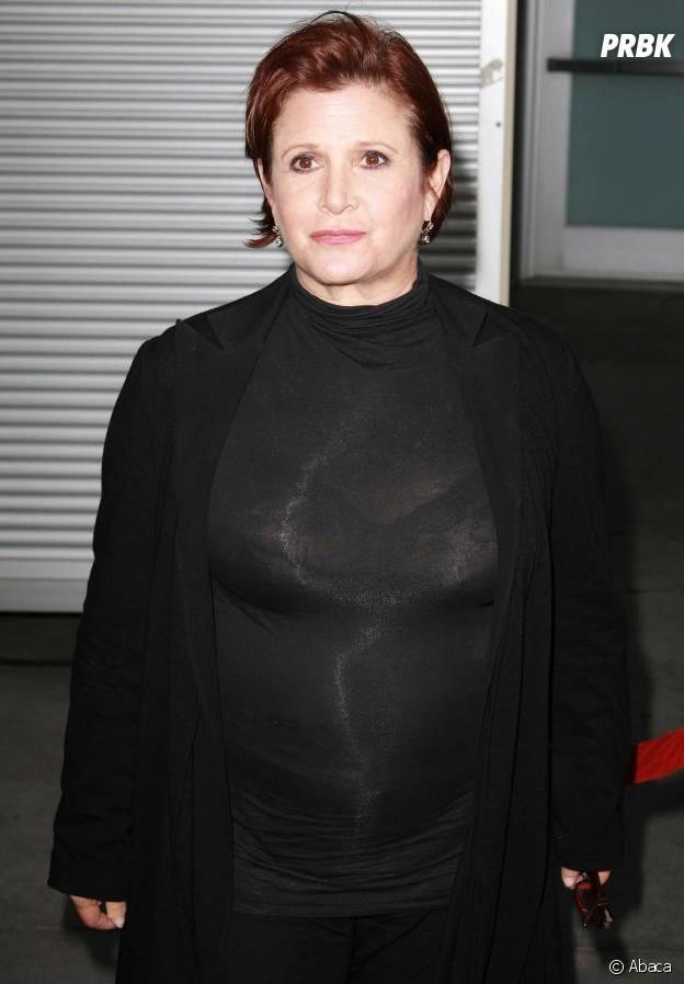Star Wars : Carrie Fisher en 2010