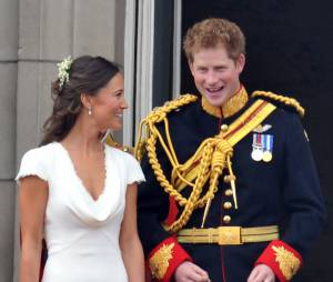 Pippa Middleton et Prince Harry au mariage royal de Kate et William en 2011