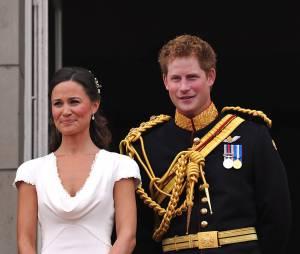 Pippa Middleton et Prince Harry au mariage royal de Kate et William en 2011